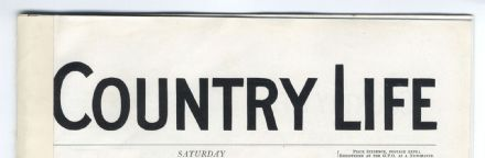 1935 COUNTRY LIFE Magazine (7202) Hay Whitney of Virginia PYE BARN MOULSFORD
